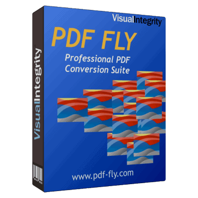 PDF FLY product shot