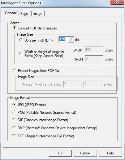 pdf2image general conversion options