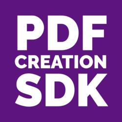 PDF Creation SDK Logo