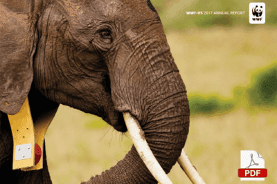 cover of 2017 world wildlife fund annual report