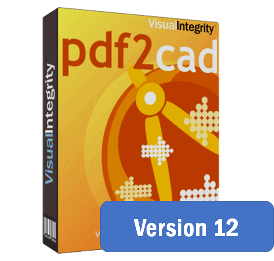 pdf2cad version 12 released